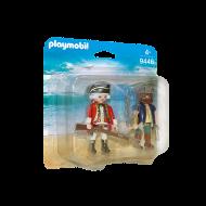 Playmobil Duo Pack Πειρατής και στρατιώτης (9446)
