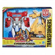 Φιγούρα δράσης Transformers Cyberverse Spark Armor Ark Power Optimus Prime