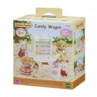 Sylvanian Families: Καρότσι Γλυκών Και Καραμέλας(Candy Wagon) 5266