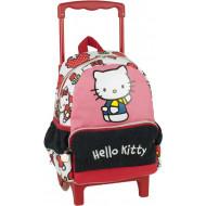 Hello Kitty Tulip Σακίδιο Νηπιαγωγείου Trolley 2021 (335-68072)