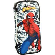 Spiderman Pattern Κασετίνα Οβάλ 2021 (337-78144)