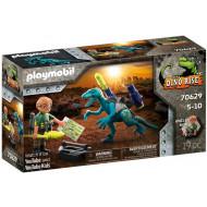 Playmobil Dinos Rise Δεινόνυχος Με Τον Θείο Rob (70629)