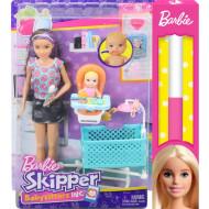 Λαμπάδα Barbie Σκίπερ Babysitter-Μια Μέρα Με Το Μωρό (FHY98)