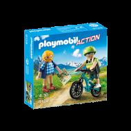 Playmobil Ποδηλάτης και ορειβάτης (9129)