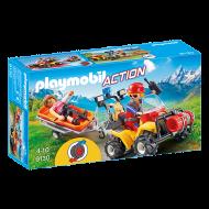 """playmobil """"Γουρούνα"""" με φορείο διάσωσης ορειβατών (9130)"""