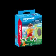 Playmobil Ποδοσφαιριστής με Τέρμα εξάσκησης 70157
