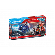 Playmobil Αστυνομική καταδίωξη μηχανών 70462