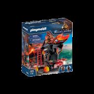 PLAYMOBIL Πολιορκητική μηχανή φωτιάς του Μπέρναμ 70393
