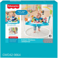 Fisher Price Color Climbers Jumperoo Βοήθημα Στήριξης Τραμπολίνο (GWD42)