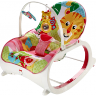 Fisher Price Infant To Toddler-Ριλάξ/Κούνια Τιγράκι (FMN40)