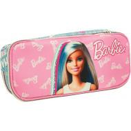 Barbie Think Sweet Κασετίνα Οβάλ 2021 (349-70144)