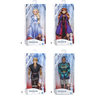 Disney Frozen II Κούκλα Character - 2 Σχέδια (E5514)