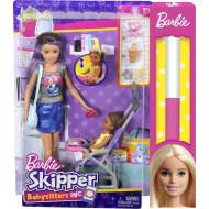 Λαμπάδα Barbie Σκίπερ Babysitter-Βόλτα Με Το Μωρό (FJB00)
