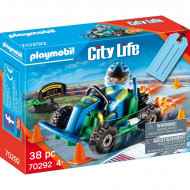 Playmobil Gift Set Οδηγός Με Go-Kart 70292