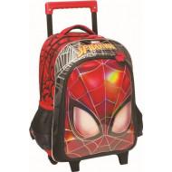 GIM Spiderman Face Σακίδιο Trolley (337-73074)