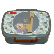 Gim Δοχείο Φαγητού (Microwave) Fisher Price Giraffe & Monkey (571-46265)