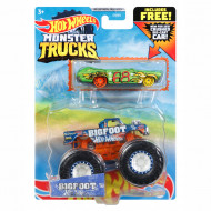 Mattel Hot Wheels Oχήματα Monster Trucks με Αυτοκινητάκι Bigfoot