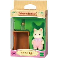Sylvanian Families: Silk Cat Baby (5066)
