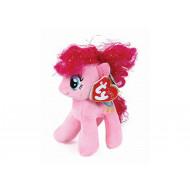 TY Μπρελόκ Λούτρινο με Κλιπ My Little Pony Pinkie Pie 11cm