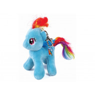 TY Μπρελόκ Λούτρινο με Κλιπ My Little Pony Rainbow Dash 11cm