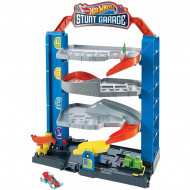 Mattel Hot Wheels City Stunt Γκαράζ Play Set GNL70
