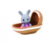Sylvanian Families Rabbit Μωρό & Καλάθι