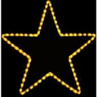 Φωτεινό Περίγραμμα Αστέρι Κίτρινο 2 Μέτρα