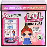 GIOCHI PREZIOSI L.O.L. Surprise Furniture Room With Doll Σειρά 2 - 4 Σχέδια LLUC4000