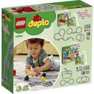 Lego Duplo Σιδηροδρομικές Τροχιές (10882)