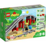 LEGO DUPLO Σιδηροδρομική Γέφυρα και Τροχιές (10872)