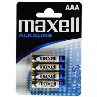 ΜΠΑΤΑΡΙΕΣ MAXELL ALKALINE LR03 AAA BLISTER 4T