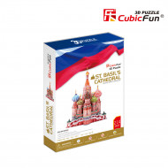 Puzzle 3D 214 pieces - St. Basil's Cathedral