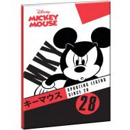 Mickey Street Smart Τετράδιο 17x25-40 Φύλλα (340-82400)