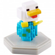 Mattel Minecraft: Earth Boost Minis - Future Chicken Φιγούρα Με Τσιπάκι GKT32 / GKT40