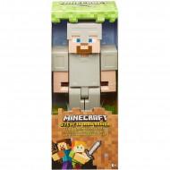 Mattel Minecraft Steve In Iron Armor Φιγούρα 30 Cm FLC70 / GGR04