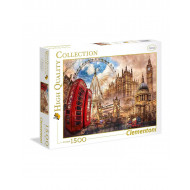 Clementoni Παζλ 1500Τεμ. High Quality Collection Κλασικό Λονδίνο 1220-31807