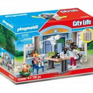 Playmobil Play Box Κτηνιατρείο 70309