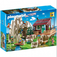 Playmobil Ορειβατική καλύβα και βράχια αναρρίχησης (9126)