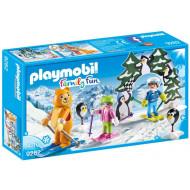 Playmobil FAMILY FUN Εκπαιδευτής Σκι Με Παιδάκια (9282)