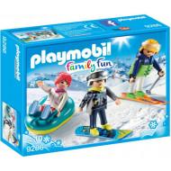 Playmobil FAMILY FUN Παρέα Χιονοδρόμων (9286)