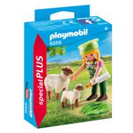 Playmobil Αγρότισσα με Προβατάκια (9356)