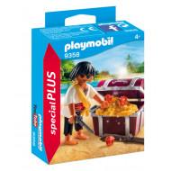 Playmobil Πειρατής με Σεντούκι Θησαυρού (9358)