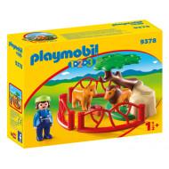 Playmobil Λιοντάρια Ζωολογικού Κήπου με Περίφραξη (9378)