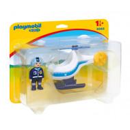 Playmobil Αστυνομικό Ελικόπτερο (9383)