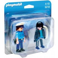 Playmobil Duo Pack Αστυνομικός & Ληστής (9218)