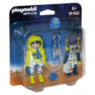 Playmobil Duo Pack Αστροναύτης και Ρομπότ (9492)