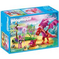Playmobil FAIRIES Δρακομαμά Με Το Μωρό Της (9134)