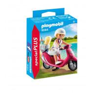 Playmobil Special Plus Κοπέλα Με Σκούτερ (9084)