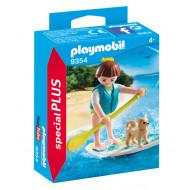 Playmobil Κορίτσι με Σανίδα SUP (9354)