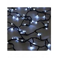 Χριστουγεννιατικα Φωτακια Led 180L Με Προγραμμα Λευκο Ψυχρο Φως/Πρασινο Καλωδιο 31V (XLALED180-GW/31V)